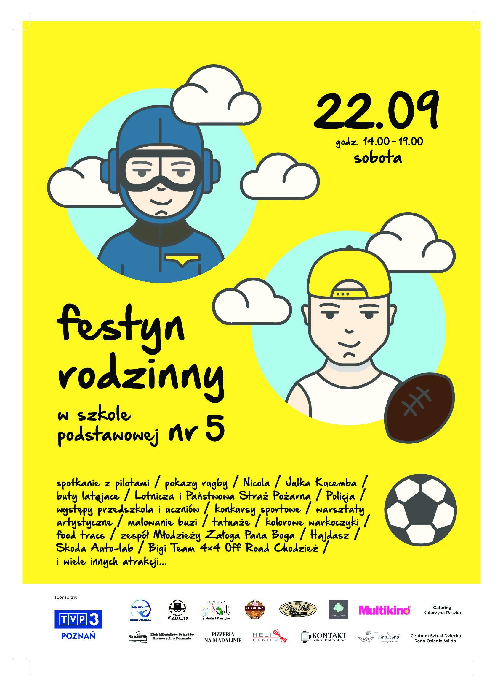 22 września – Festyn szkolny