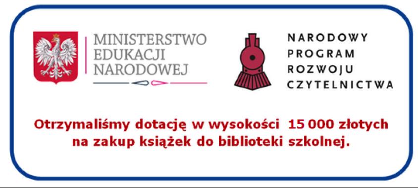 Znalezione obrazy dla zapytania narodowy program czytelnictwa