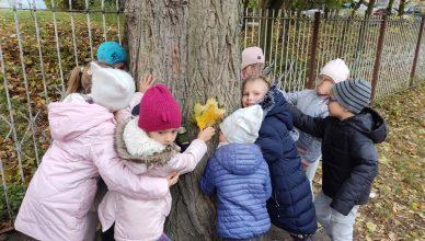 Przedszkolaki świętowały Dzień Drzewa